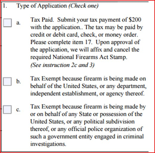 In A Post Atf 41f World How To Fill Out An Atf Form 1 Form 4 Form