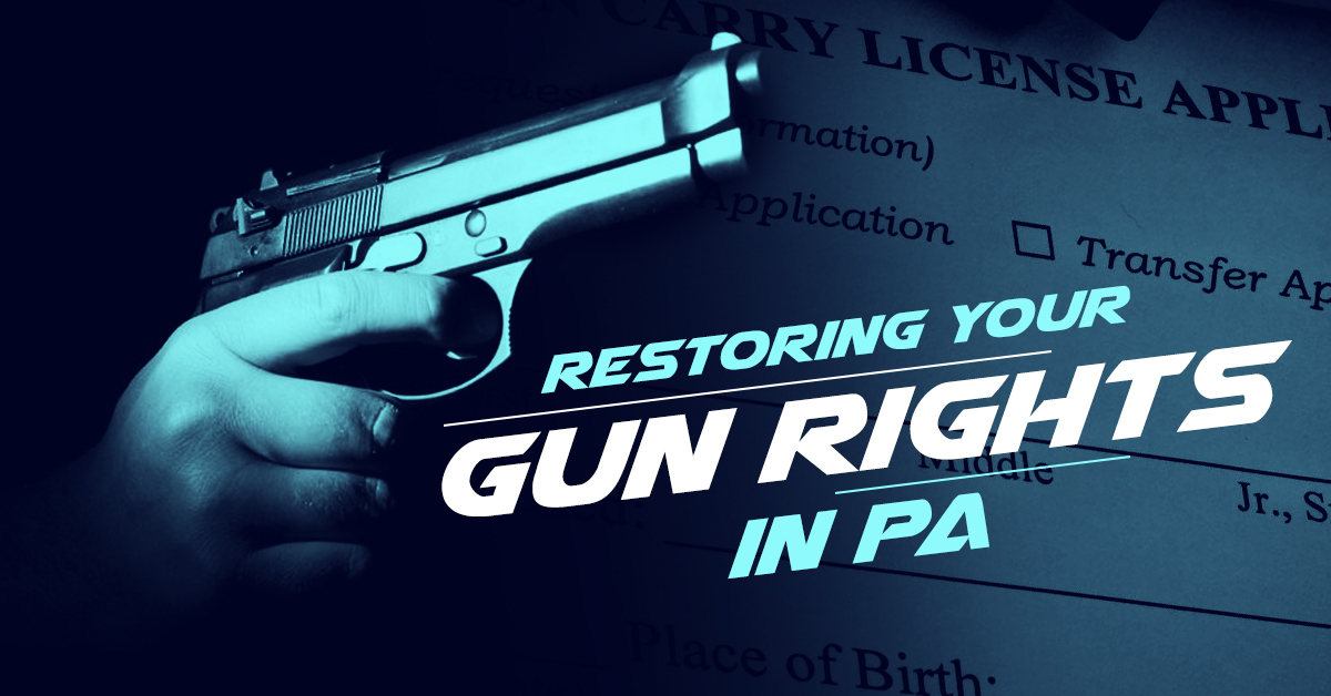 Restoring Your Gun Rights in PA After a 302 Commitment